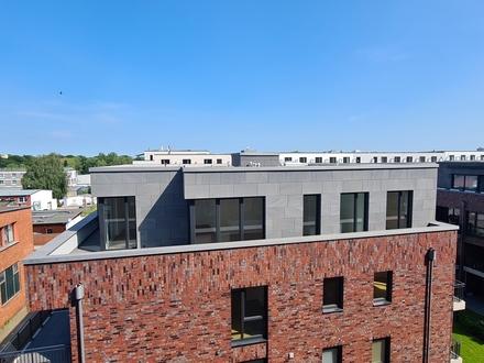 Neubau/Erstbezug! - Moderne Penthousewohnung mit 2 Terrassen am Wandsbeker Quarree