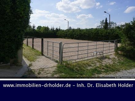 Großzügige Reitanlage mit Halle, Reitplatz, Koppeln und mehr ... , Kauf, Erfurt-Weimar