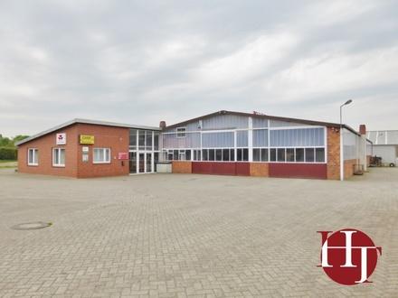 Werkstatt-/Lagerhalle mit Büro und Verkaufsfläche im Dreieck zwischen Bassum, Syke und Harpstedt!