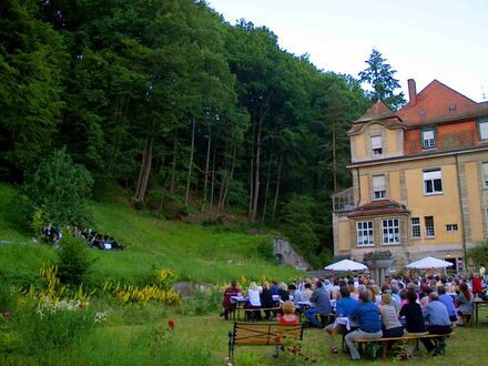 Bistro-Café / Garten-Café im Jugendstil-Park