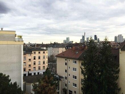Blick vom Balkon auf Skyline