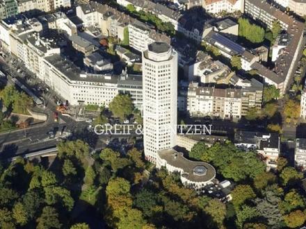 Möblierte 3-Zimmer-Wohnung über den Dächern Kölns!