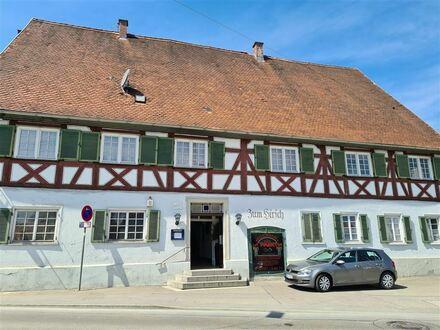 Historisches Gebäude mit vielen Möglichkeiten in Sanierungsgebiet