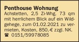 Vermietung 2-3 Zimmer-Wohnungen
