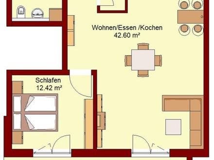 Wohnung in Wertzuwachs-Lage