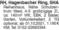 Reihenhaus Hagenbacher Ring, SHA