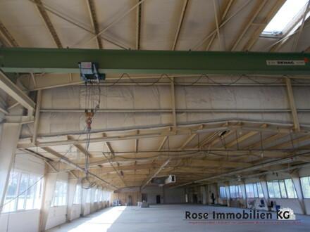 ROSE IMMOBILIEN KG: Lager-/Produktion mit Kranbahn 2,5t.
