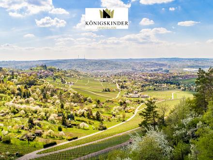 Gartengrundstück in herrlicher Aussichtslage oberhalb von Stuttgart-Rotenberg