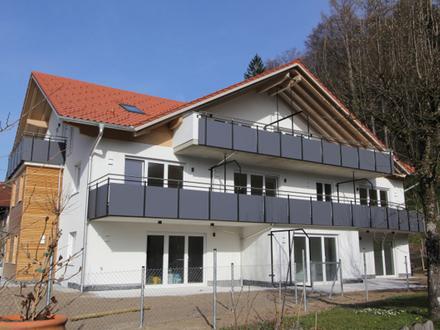 Neubau - Erstbezug - exklusive 3 Zimmerwohnung mit Balkon und herrlichem Bergblick !