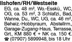 Ilshofen/RH/Westseite