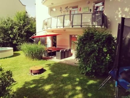 4,5 ZKB 107 m² Terr. 625000,- Stilvolle 4,5 Zimmer Gartenwohnung mit hochwertiger...
