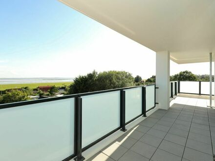 TT bietet an: Großzügige schlüsselfertige 3-Zimmer 130,91 m² große Neubauwohnung in der Jadeallee 104 direkt am Südstrand…