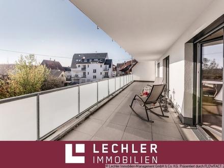 Balkonwunder! Neuwertige 4,5-Zimmer-Wohnung im Herzen von Korb