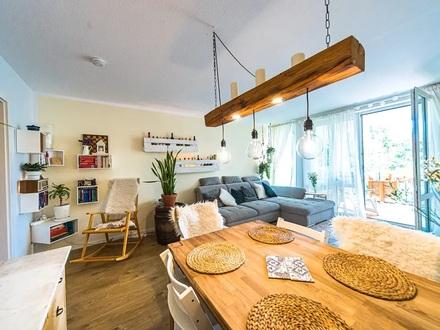 Vollständig renovierte 3 Zimmer Wohnung mit Sauna - EBK - Tiefgaragenstellplatz