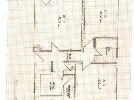 Ruhige 3-Zimmer-Wohnung, WG-geeignet, ca. 103,03 m² mit Blick auf den Inn ab sofort zu vermieten