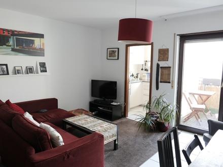 In beliebter Stadtteillage - Komfortable 2 ZKB mit Lift, Loggia, EBK und TG!