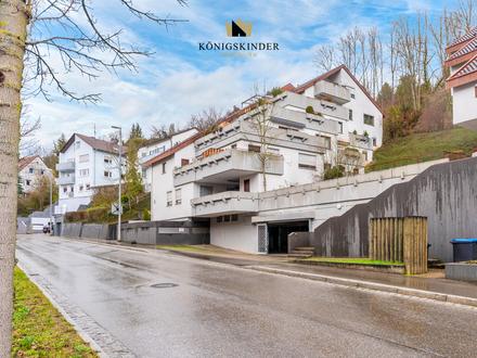 Freundliche 2,5 Zimmer Wohnung mit Ruheoase Terrasse und TG-Stellplatz in Esslingen