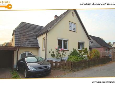FL-Adelby! Charmantes Haus für Zwei! Überdachte Terrasse! Ruhig und zentral! Spielstraße!