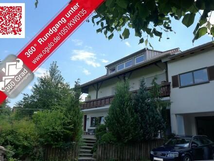 Blick ins Grüne: 3-Zimmer-Wohnung mit großer Terrasse in Aitrach