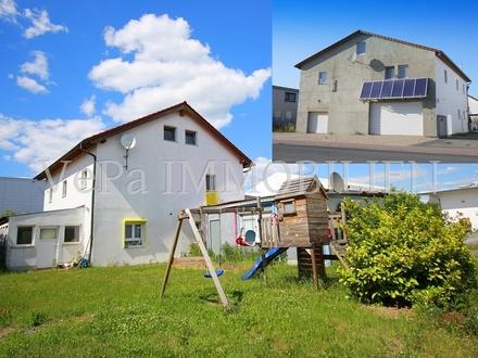 VePa IMMOTIPP: Perfekte Immobilie für ein Handwerksbetrieb. EFH+Halle+Flächen mit enormen Potential!