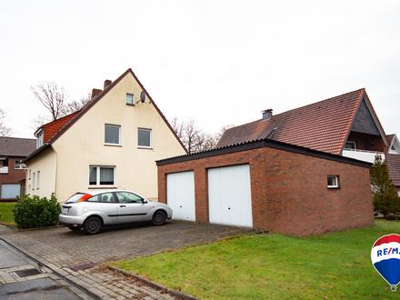 Zweifamilienhaus in ruhiger Wohnsiedlung im schönen Landkreis Osnabrück.
