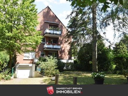 Hastedt / Helle 2-Zimmer-Wohnung mit Balkon am Osterdeich