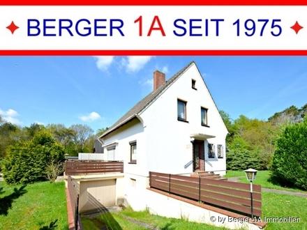 BREMEN-FARGE: gepfl. 1.-FAM.-HAUS mit GR. SONNENTERRASSE, VOLLKELLER und GARAGE, 4 Zimmer