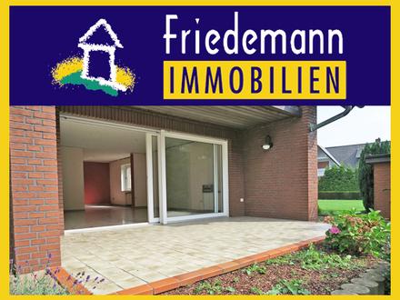 Sehr schöne und komplett renovierte 3 Zimmer-Erdgeschoss-Wohnung mit Südterrasse, Garten und Garage in Bad Oeynhausen - Werste