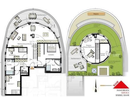 Luxuriöses Wohnen im eigenen Penthouse...
