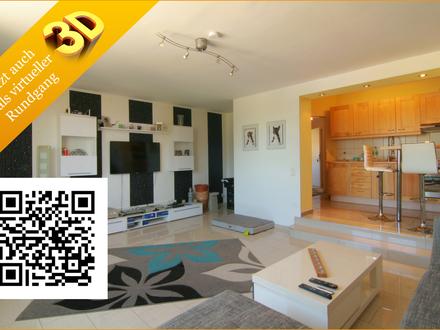 Exklusive, 3-Zimmer Wohnung mit Garten und Stellplatz