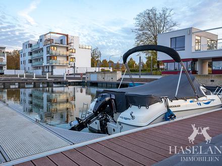 Wohnen am Wasser - Neubauwohnung an der Marina Bad Essen