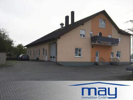 Wohn- und Gewerbeanwesen mit Gaststätte im Industriegebiet in Stockstadt am Main