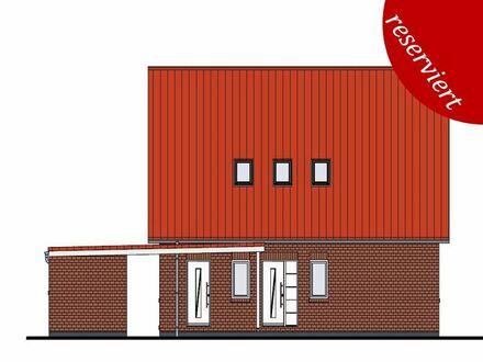 Strackholt: Neubau EFH m. Carport, Obj. 4738