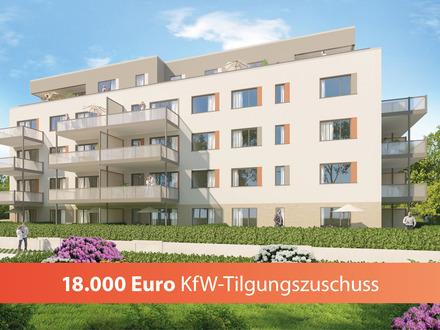 Jetzt Tilgungszuschuss von 18.000 EUR sichern: 3-Zimmerwohnung mit großem Sonnenbalkon