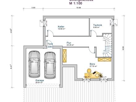 Neubau: EFH f. 799.900,- € inkl. Grundstück in Halbhöhenlage!