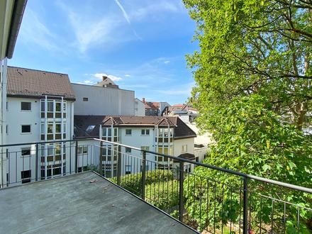 Sanierte Altstadtwohnung mit Terrasse und Gartennutzung für Singles, Paare oder die Kleinfamilie