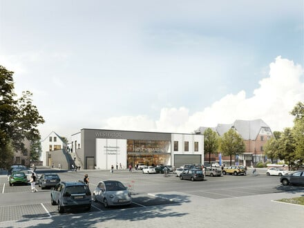 Das Westertor in Lübbecke - Neubau Ladenfläche in 1A City-Lage!