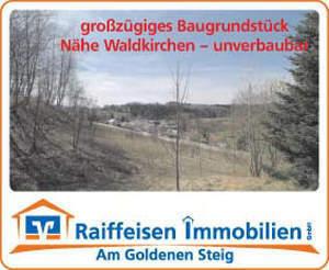 Baugrundstück N. Waldkirchen - unverbaubare Hanglage