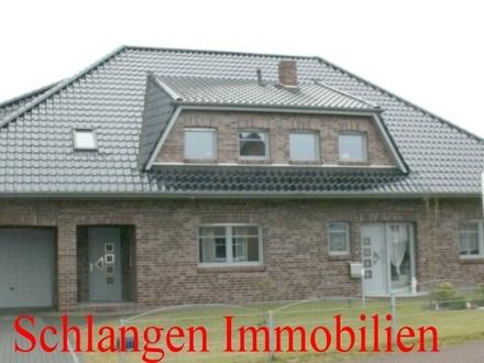 Einfamilienhaus mit Eiinliegerwohnung und Doppelgarage im Feriengebiet Saterland / OT Ramsloh