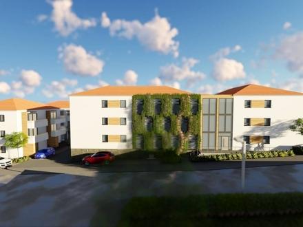 Betreute Seniorenwohnungen - 2-Zimmer-Dachgeschoss-Wohnung mit ca. 63,50 m² Wohnfläche