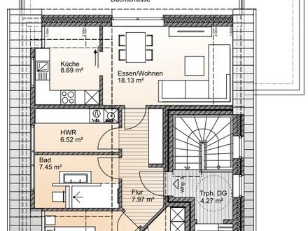 KfW-55 Standard: Dachgeschosswohnung mit Lift in ruhiger Sackgassennlage nahe Bürgerfelder Teich!
