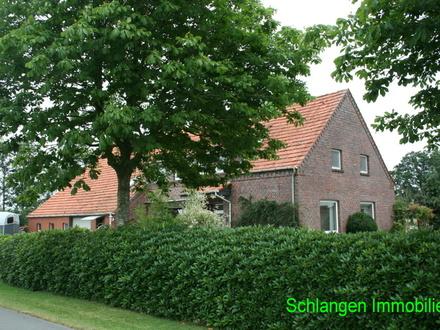 Gulfhaus mit altem Ständerwerk in Saterland - Scharrel