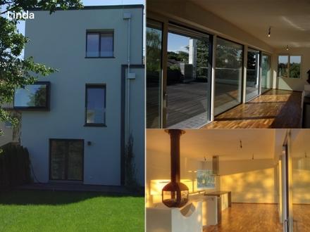 Architekten-Wohntraum in edler Ausstattung mit riesiger Sonnen-Terrasse & Garten im MÖDLINGER Zentrum in Ruhelage; Erdwärmeheizung