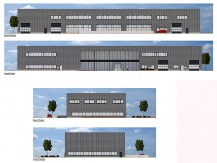 Neubau-Bürofläche im Hansa-Businesspark - nahe Autobahn - Fertigstellung März 2020