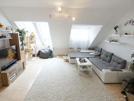 Schicke 2-Zimmer-Dachgeschosswohnung in Coburg - Neustadter Straße