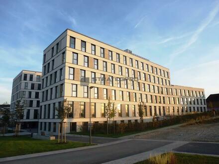 Premium-Büros Nähe HBF: Bodentief verglaste Fenster - Passivhausstandard - Hohlraumboden