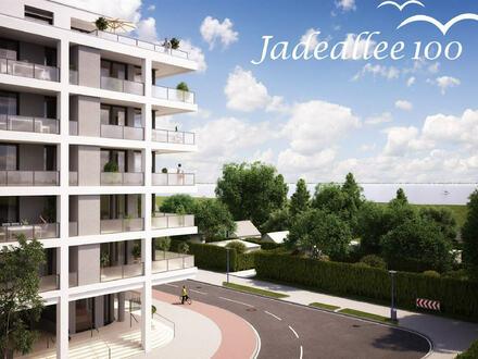 Attraktive Neubau-Eigentumswohnung mit großen Balkonen direkt am Wasser in Wilhelmshaven!