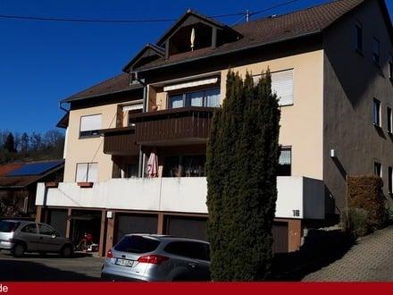 Ansprechende, helle 3 Zimmer-Wohnung mit Süd-Balkon in Weissach im Tal.