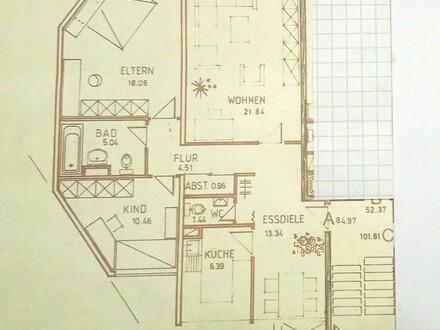 Schöne helle 3 Zimmer Wohnung in Lövenich Erstbezug nach Sanierung