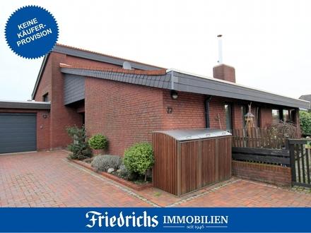 Provisionsfrei für den Käufer! Attr. Pultdach-Wohnhaus in Bad Zwischenahn/ruhige, zentrale Wohnlage